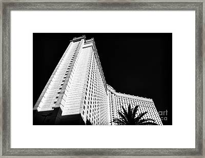 Monte Carlo Lines Framed Print by John Rizzuto
