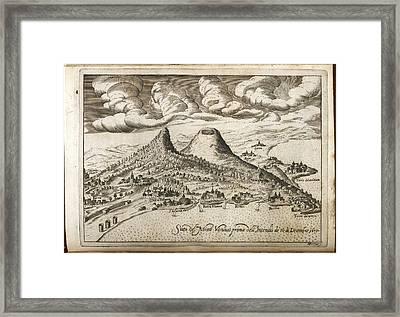 Monte Vesuvio Framed Print