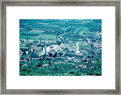 Montechio Italy 1962 Framed Print by Cumberland Warden