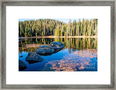 Montecito Lake Framed Print