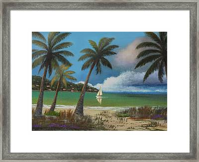 Montego Bay Framed Print
