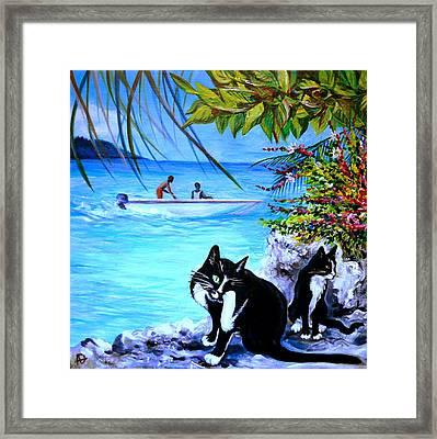 Montego Bay. Part One Framed Print