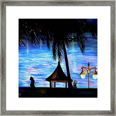 Montego Bay. Part Two  Framed Print by Anna  Duyunova