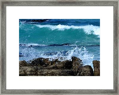 Framed Print featuring the photograph Monterey-3 by Dean Ferreira