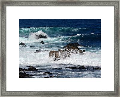 Framed Print featuring the photograph Monterey-6 by Dean Ferreira