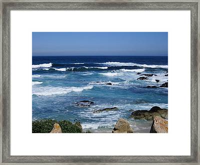 Framed Print featuring the photograph Monterey-9 by Dean Ferreira