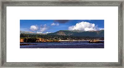 Monterey Bay California Framed Print by Lynn Bolt