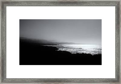 Monterey Bay Framed Print