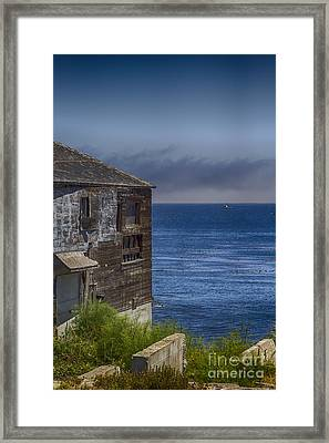 Monterey Bay Framed Print by Christopher Purcell