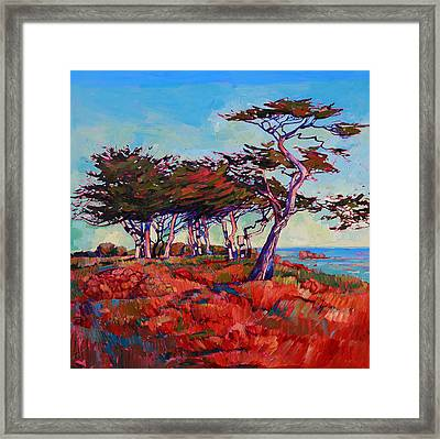 Monterey Diptych Left Panel Framed Print