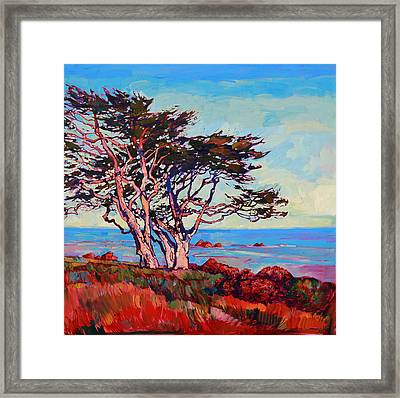Monterey Diptych Right Panel Framed Print