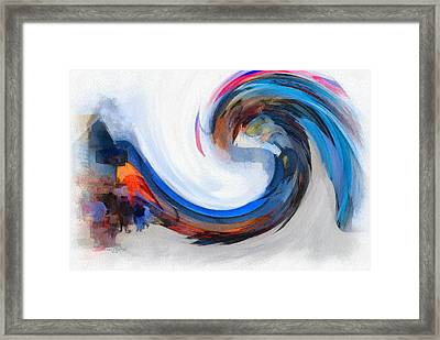 Monterey Wave Framed Print