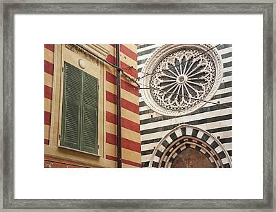 Monterosso Al Mare  Cinque Terre Framed Print