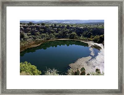 Montezuma Well Framed Print by Ivete Basso Photography