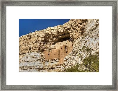 Montezumas Castle 12 Framed Print by Douglas Barnett