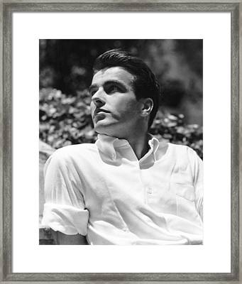 Montgomery Clift, In 1948 Framed Print by Everett