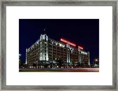 Montgomery Plaza Fort Worth Framed Print by Jonathan Davison