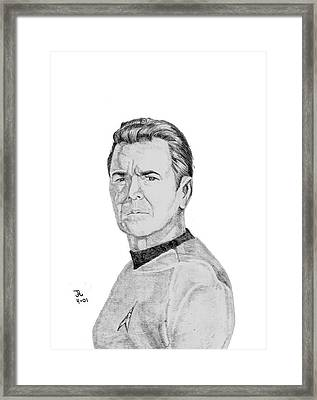Montgomery Scotty Framed Print