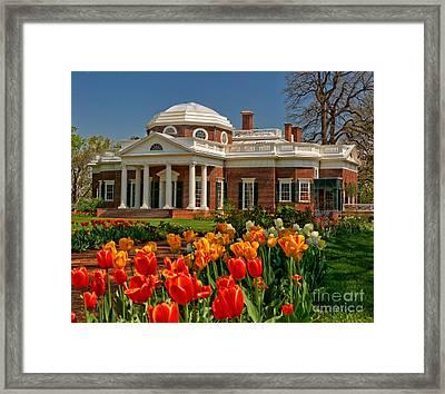 Monticello Framed Print