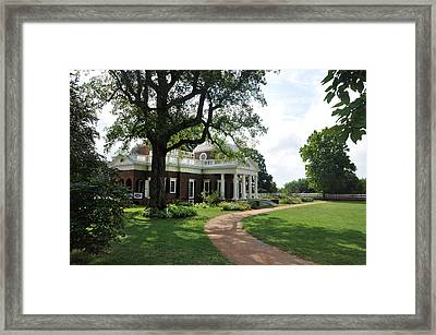 Monticello - Virginia Framed Print by Bill Cannon