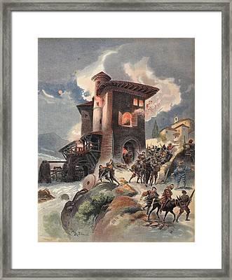Montlue Seizes The Moulins Dauriol Framed Print