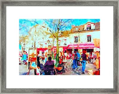Montmartre 16 Framed Print
