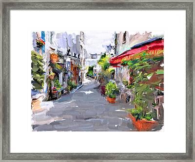 Montmartre Beauty Framed Print