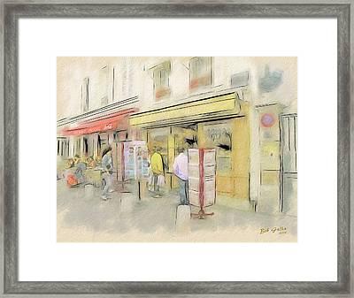Montmartre Galleries Framed Print