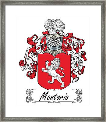 Montorio Coat Of Arms Italian Digital Art By Heraldry