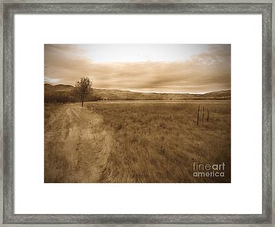 Montour Framed Print by Kimberly Maiden