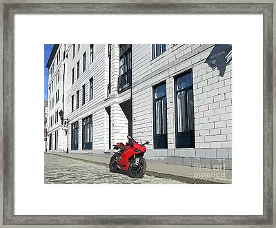 Montreal Framed Print by AntiHero