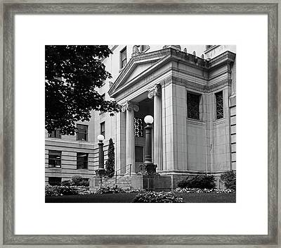 Montreal Board Of Trade  Montreal Framed Print