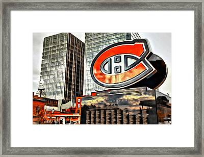 Montreal C Framed Print by Alice Gipson
