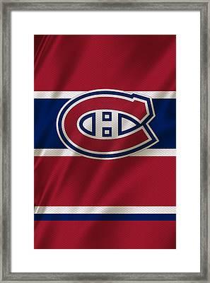 Montreal Canadiens Uniform Framed Print