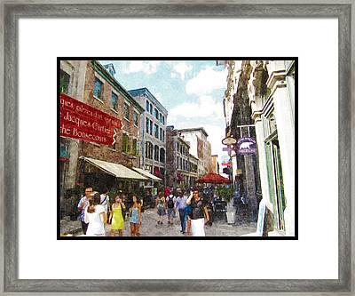 Montreal Corridors Of Time Framed Print