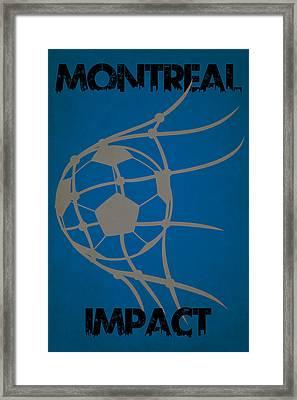 Montreal Impact Goal Framed Print