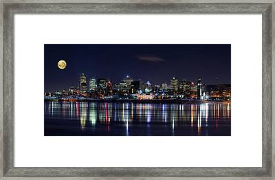 Montreal Night Framed Print