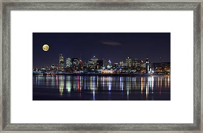 Montreal Night Framed Print by Yuppidu
