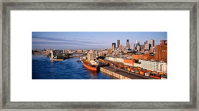 Montreal, Quebec, Canada Framed Print by Panoramic Images
