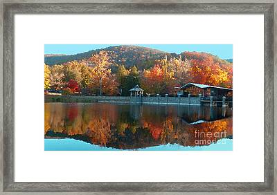 Montreat Autumn Framed Print by Lydia Holly