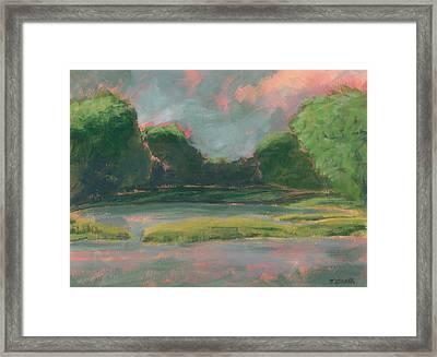 Montsweag Bay Framed Print
