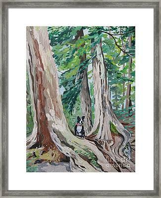 Monty's Travels Framed Print