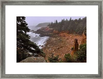 Monument Cove - Acadia Framed Print