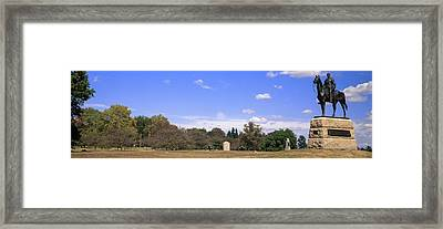 Monument To Maj. Gen. George G. Meade Framed Print