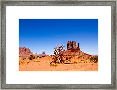Monument Valley 2 Framed Print by Tracey Hunnewell