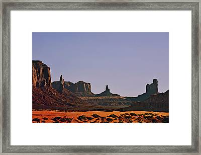 Monument Valley - An Iconic Landmark Framed Print by Christine Till