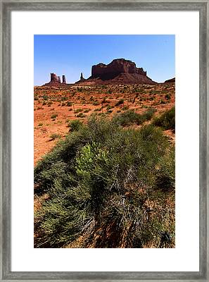 Monument Valley Framed Print by Angie Wingerd