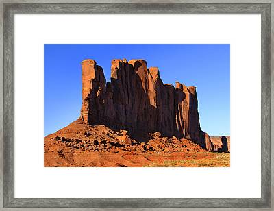 Monument Valley - Camel Butte Framed Print by Mike McGlothlen