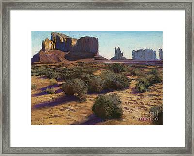 Monument Valley Framed Print by Dave Holman