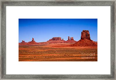 Monument Valley II Framed Print by Robert Bales